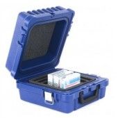 TURTLE Case LTO/DLT/RDX-10 Blue, Waterproof, Foam Slots